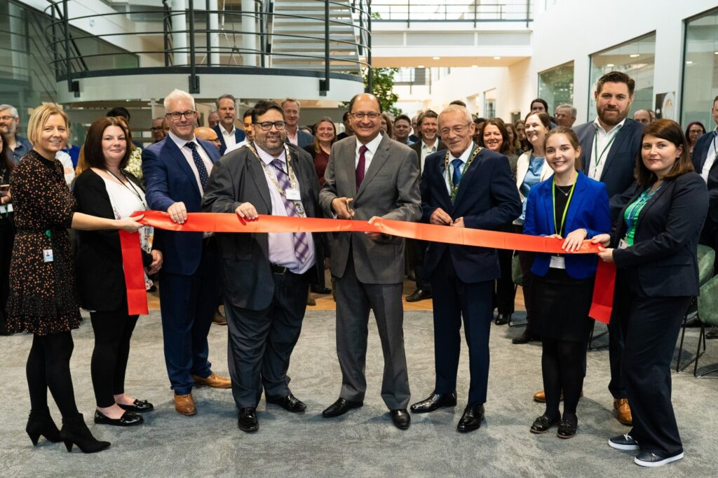 The opening of RoyalHaskoning's new offices in Peterborough